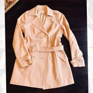 Halogen Beige Trench Coat! NWOT
